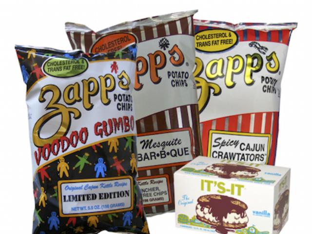 regional snacks across the U.S. - Zapps, It's-It, Tastykake