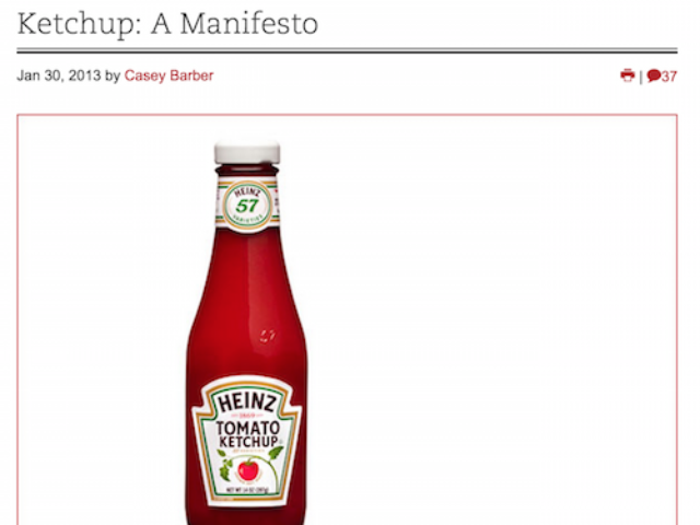 Why Heinz Ketchup is the Best