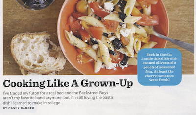 Ladies' Home Journal: Cooking Like A Grown-Up