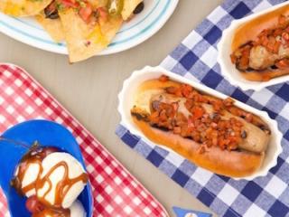 all-star baseball themed cookout menu
