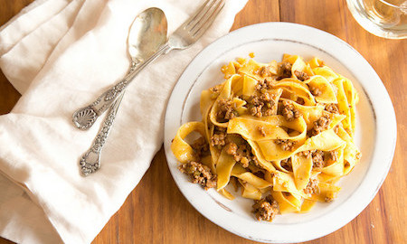 TODAY Food: Lightened-Up Bolognese