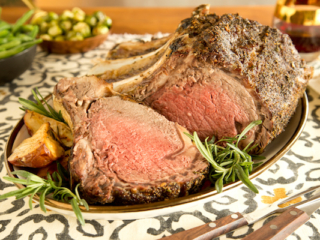 holiday prime rib recipe and tutorial