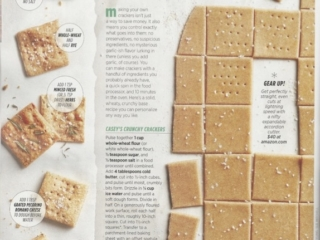 DIY Crackers - Allrecipes Magazine November 2017