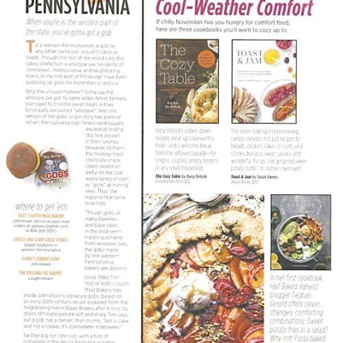 Allrecipes Magazine: Virtual Travel – Pennsylvania Gobs