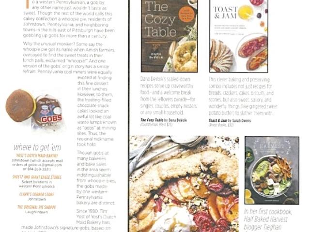 Allrecipes Magazine Gobs - November 2017