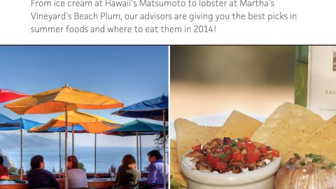Travel Channel: Best Summer Foods 2014