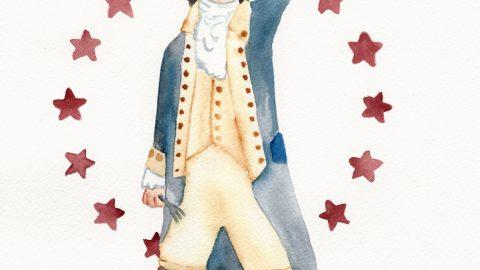 Illustration: Hamilton-Inspired Thanksgiving