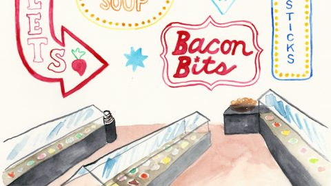 Illustration: Ode to the Old-School Salad Bar
