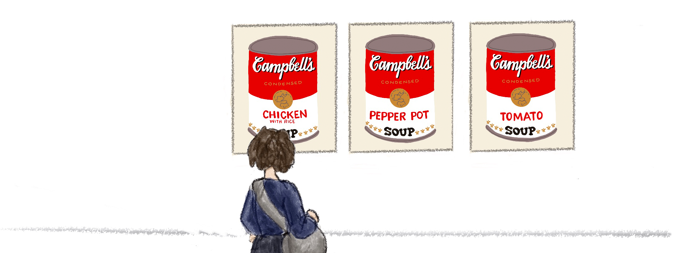 Campbells soup illustration