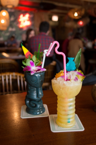 tiki drinks at Lost Lake in Chicago
