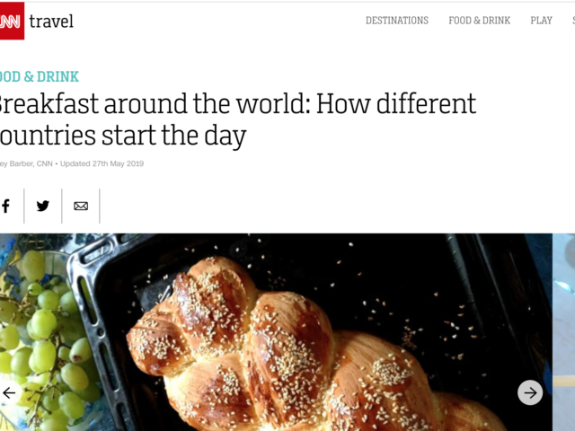 traditional breakfast foods for 21 countries around the world