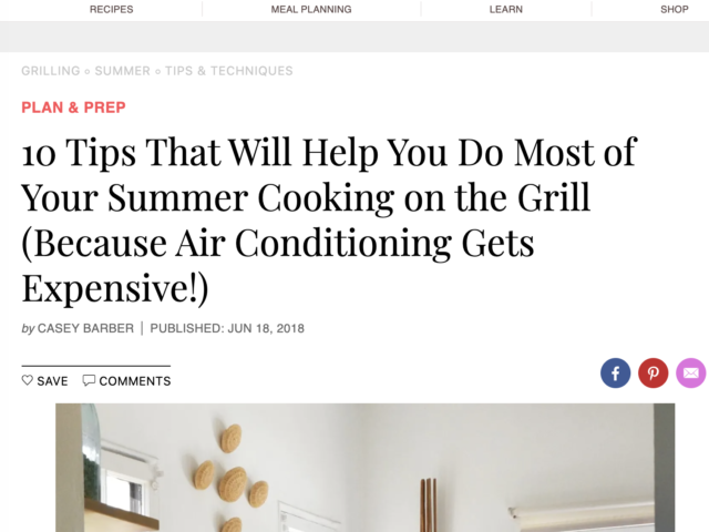 10 everyday grilling tips