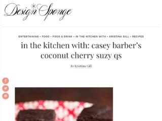 Design*Sponge - coconut cherry suzy qs recipe