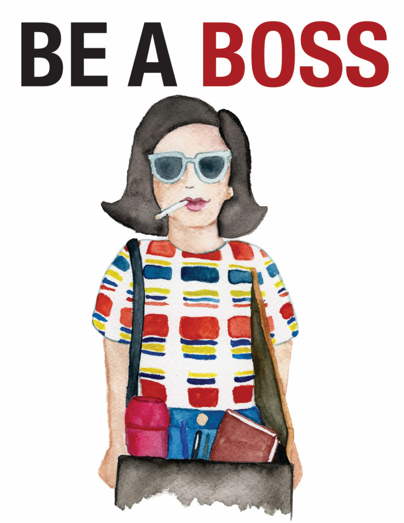 Peggy Olson Mad Men watercolor illustration