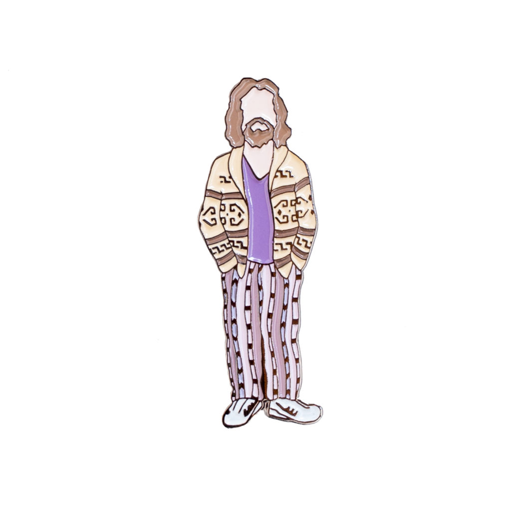 Big Lebowski The Dude enamel pin